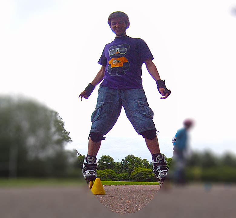 Rollerman, Inline Skate Club - School